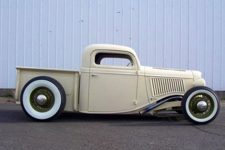 Nice custom pick-up..