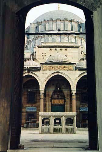 ISLAMIC ARCHITECTURE- suleymaniye mosque Istanbul  MIMAR SINAN architect.