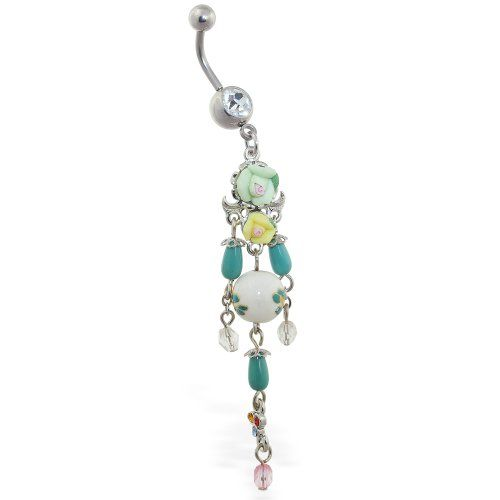 Vintage rose chandelier belly button ring Ms.Piercing Belly Button Ring,http://www.amazon.com/dp/B009U4KU9I/ref=cm_sw_r_pi_dp_mUJMsb1SZ5GNVD32