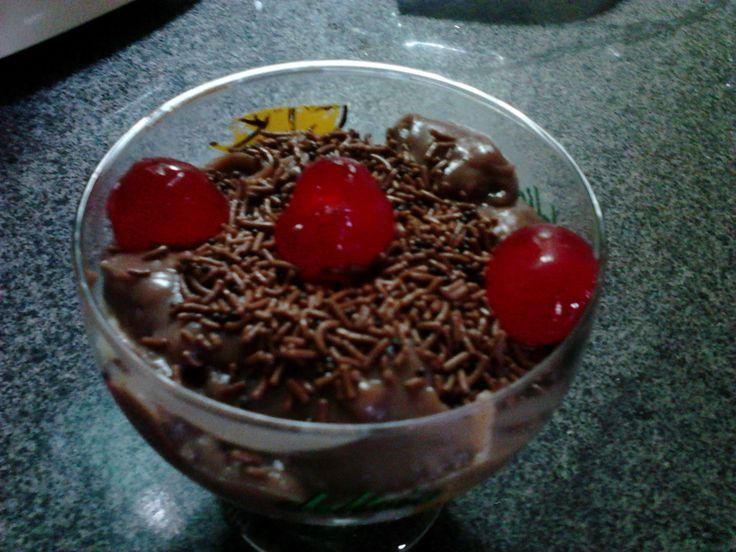 Pave sonho de valsa. http://culinariachrisgipebube.blogspot.com.br/ O melhor das sobremesas.