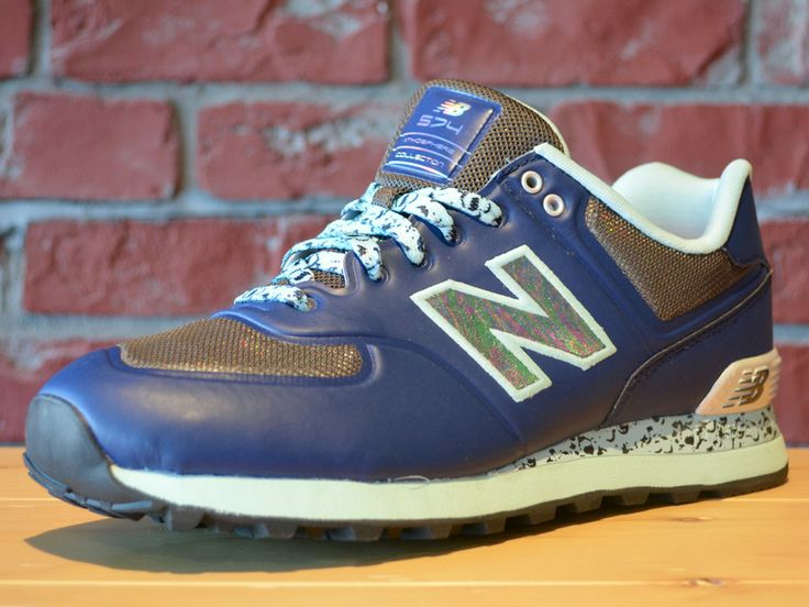 New Balance limited edition Atmosphere 574 with glowinthedark