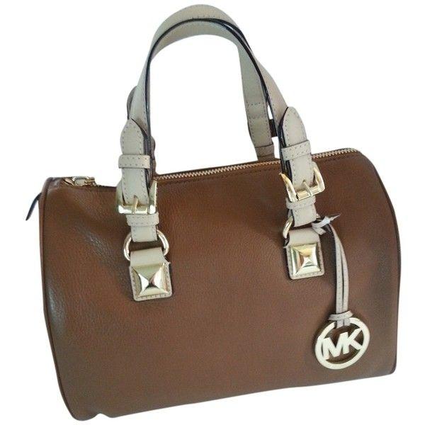 Bolsa Michael Kors Grayson Medium : Best ideas about brown satchel on fossil