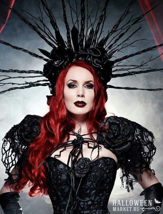 #witch #costume #halloweenmarket #halloween  #ведьма #костюм #образ Костюм ведьмы на хэллоуин (образ, макияж, фото)