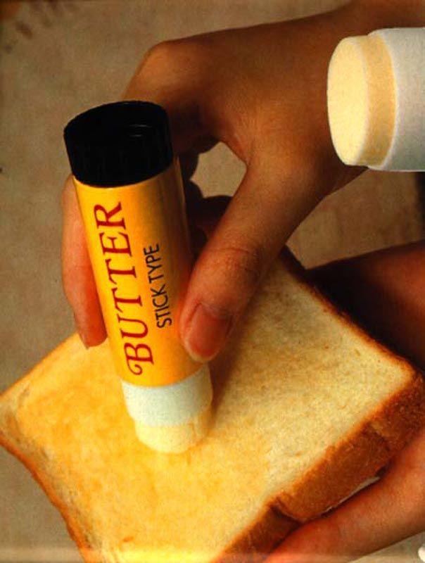 Butter stick. Genius!
