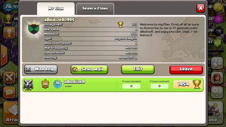 Everybody join my Clan in Clash of Clans I will be Happy for that, hurry up !! #youtuber #coc #clashon #clan #clashofclans #clashofclan #gamer #mobile #iOS :)