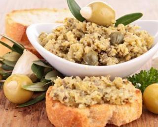 Tapenade light d'olives vertes sans huile