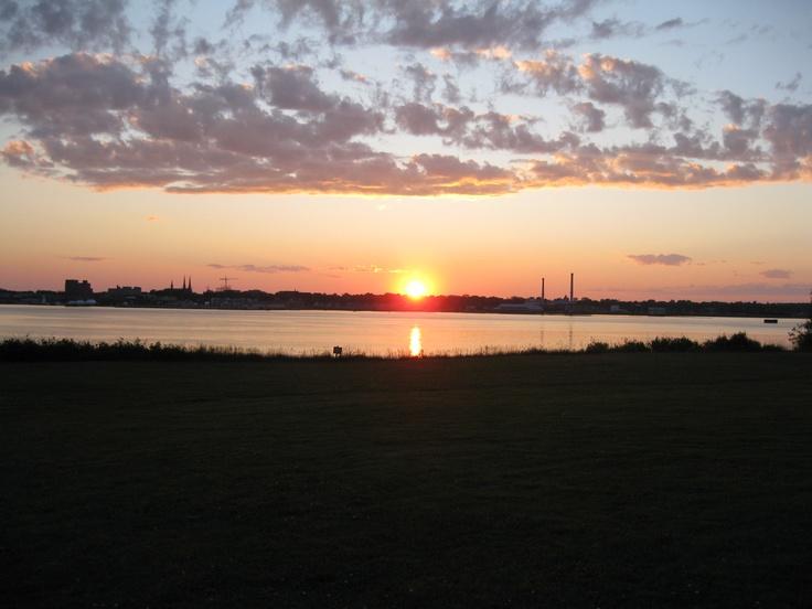 sunset on PEI, Canada
