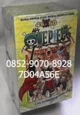 Beli komik murah, buku komik, buku komik murah, harga jual komik, jual komik murah, komik baru, komik bekas, komik dan novel, komik murah 2015, komik murah banget, komik murah bekas, komik murah online, buku komik online, buku komik terbaru, jual komik bekas murah online.  KOMIK BARU ONEPIECE 41 – 50, by Eiichiro Oda Jumlah seri  : 41 – 50 (10 buku) Kondisi       : Buku Komik Baru, Segel, Box Set Penerbit      : Elex Media Komputindo