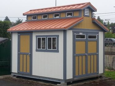 tough shed roof diagram 10'x12' premier pro ranch. the building features a raised ... light roof diagram #13
