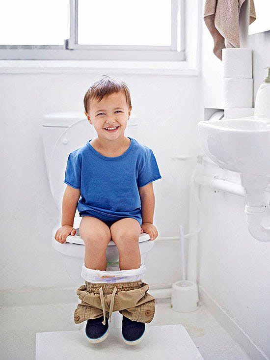 Stop stressing! Here's how to make sure your toddler is potty trained before starting preschool.