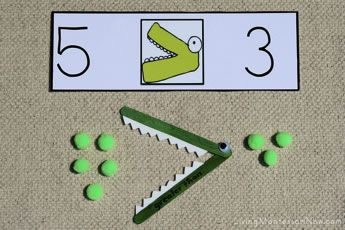 MATH Lesson Plan- introduces greater than or less than concepts.