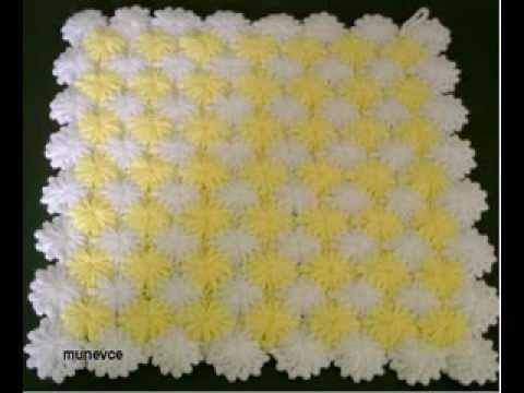 Tunisian Crochet Berry Stitch
