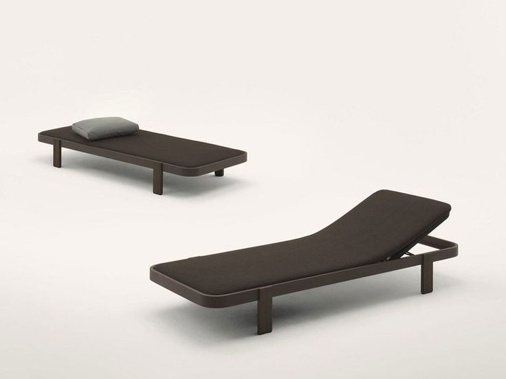 Sun beds and chaise longue: Chaise Longue Rams by Paola Lenti
