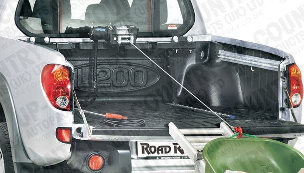 Mitsubishi L200 Long Bed Cargo Management Truck Bed