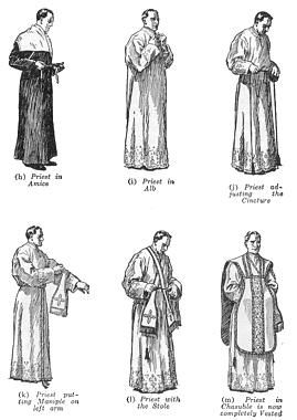 Priestly vestments: what they symbolize, and the accompanying vesting prayers