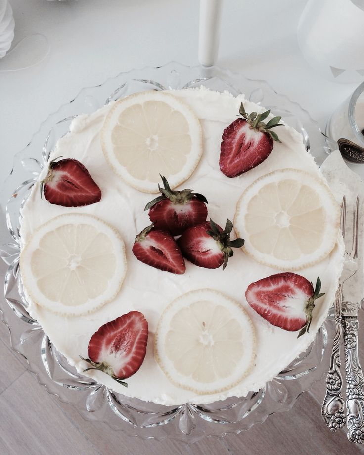 Lemon cheesecake with white chocolate ♡