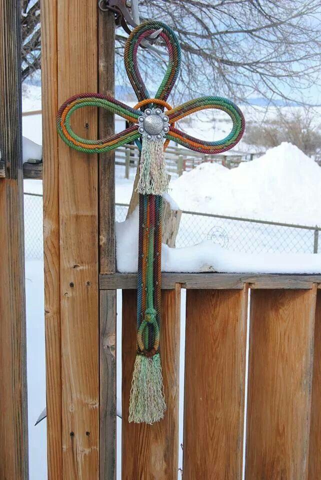 Rope cross pinterest for Decor 77