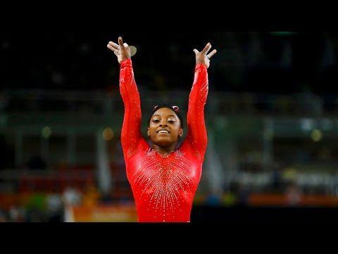 Simone Biles se llevó el 'show' en el salto a caballo de Rio 2016 - YouTube