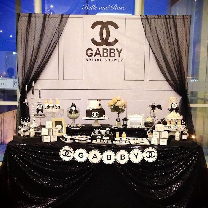 Lembra o post sobre chá de cozinha + festa temática?! Lembra que falei sobre chá de panela com tema Chanel?! O post de inspiração é exatamente com muitas imagens para sua pastinha de referência com tema Chanel! E quando digo que tudo é possível, esse chá de panela criativo, super feminino e glamouroso, tem todo o foco na mesa de bolo e doces. Claro que se você quiser expandir a ideia e decorar as mesas das convidadas e outros detalhes, já tem um monte de inspiração como base para que você…