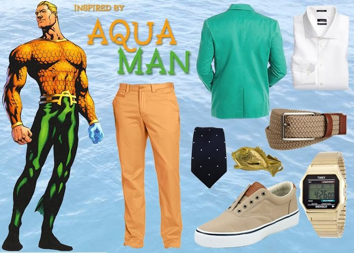 Outfit inspired by Aquaman