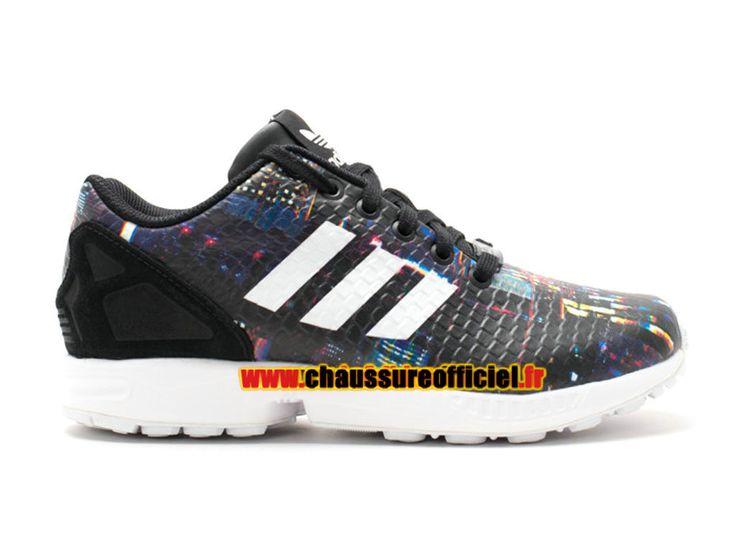 Adidas Originals ZX Flux Chaussures Adidas Pas Cher Pour Homme/Femme multicolore B25834