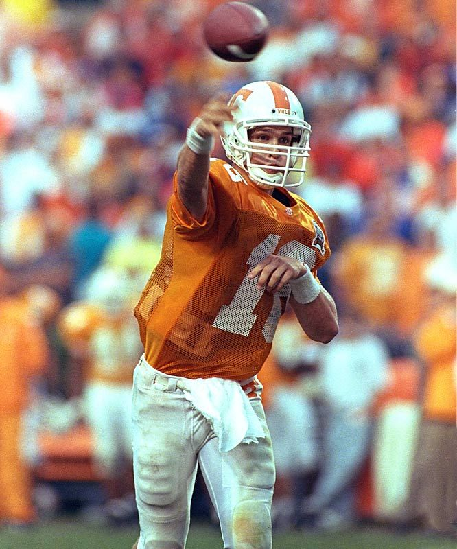 Pics Peyton Manning As Bronco | recall another Tennessee quarterback who played the position like Peyton Manning