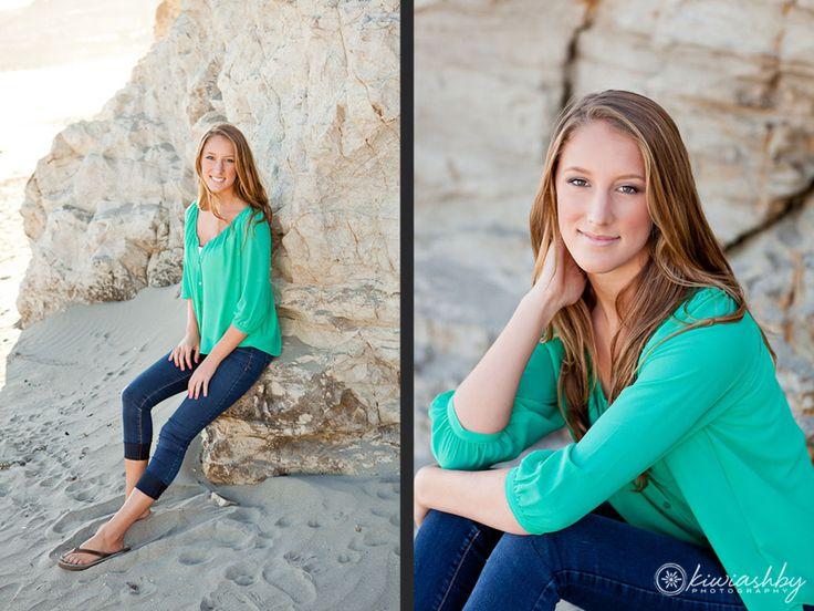 california beach senior portraits