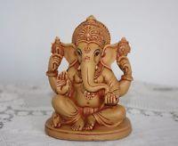 Indien Gott Ganesha Figur Skulptur Kunst Budha Radha Krishna OM Hindu Neu