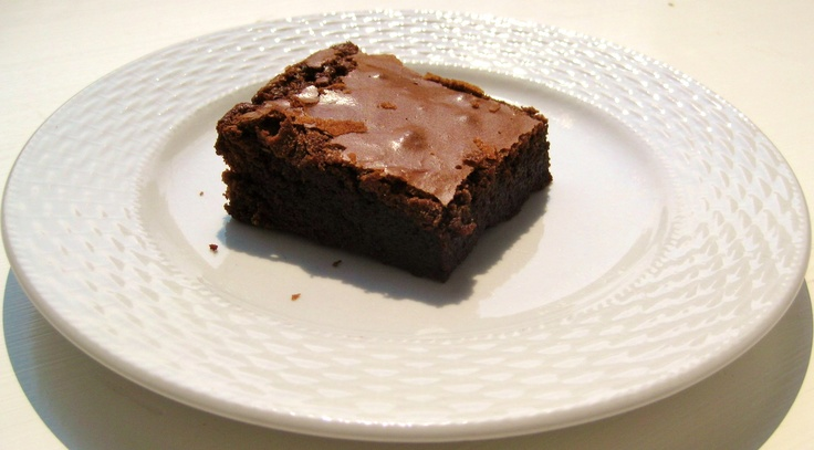 One of our delicious Chocolate Fudge Brownies