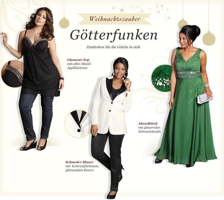 Götterfunken / Weihnachts-Zauber / Aktuelles / Mode - bei sheego