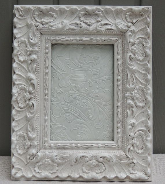 White Picture Frames 4x6 Picture Frame Ornate Picture Frame