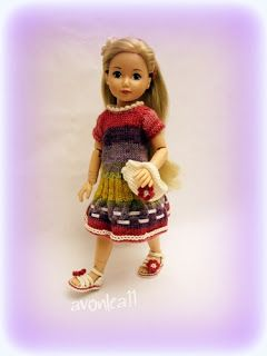 OOAK doll clothes: Outfit N°8 for Zapf Jolina:                       ...