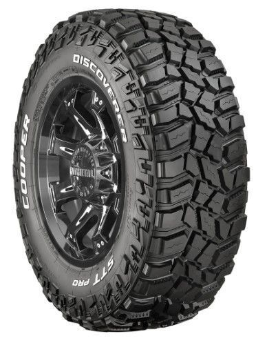 Cooper Discoverer STT Pro Off Road Tire - 30X9.50R15 LRC/6 ply, mud