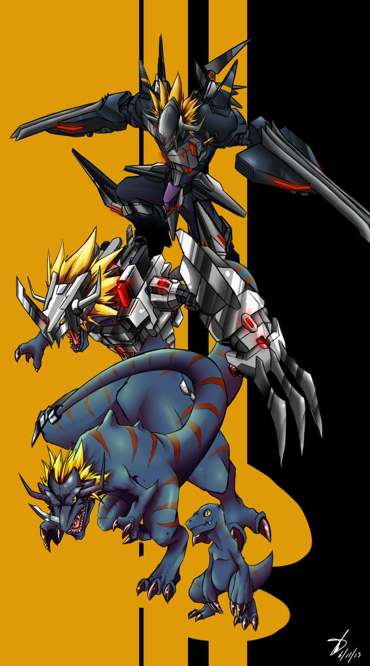 Virus Greymon by kaizer33226.deviantart.com on @deviantART