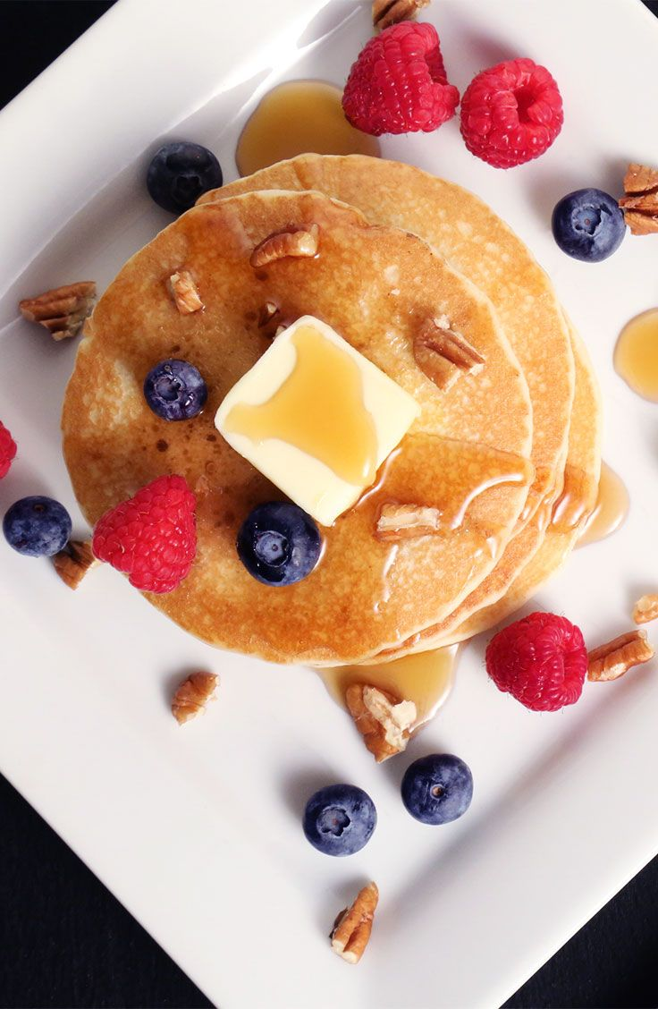 Isopure Protein Pancakes Made With Isopure Unflavored Whey Protein Isolate Has Us Fli Whey Protein Recipes Unflavored Protein Powder Recipes Protein Pancakes