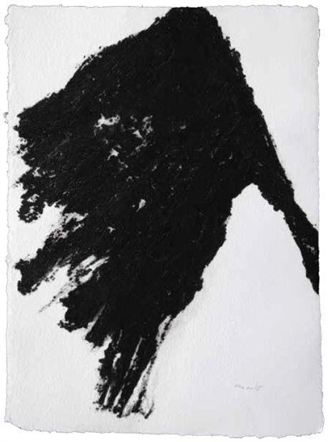 Armando, Fahne, 2014, Carborundum-druk op handgeschept papier, 76 x 56 cm (oplage 20 ex.), Post + Garcia Maastricht