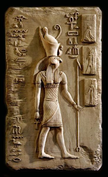 The Osirus / Horus god of Egyptian mythology ...