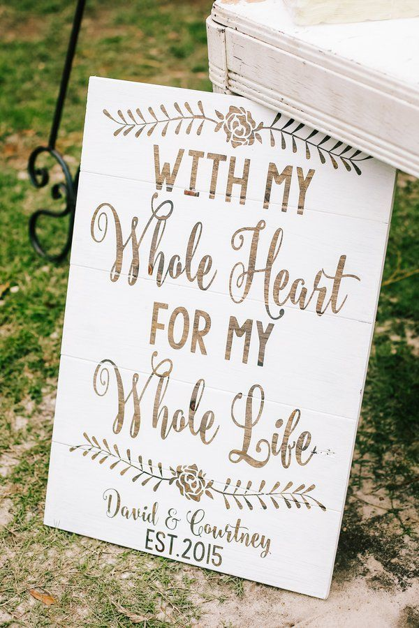 17 Best 1000 images about Rustic Wedding Signs on Pinterest Rustic
