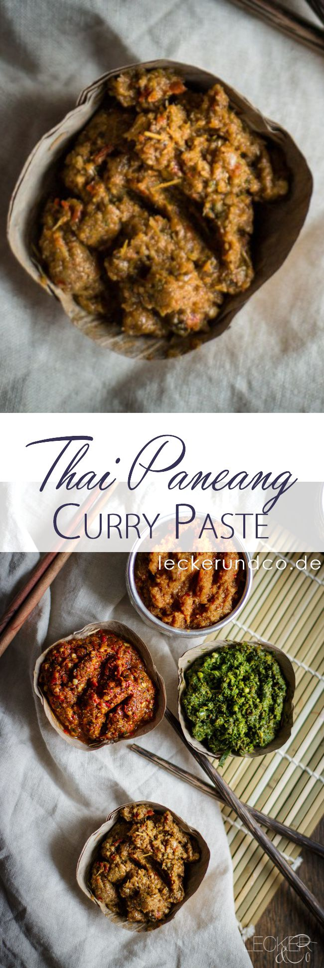 Thai Paneang Curry Paste | Thailändische Paneang Currypaste