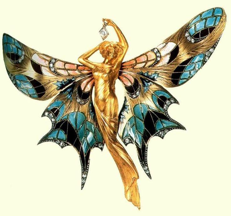 Рене Лалик - художник, ювелирный гений конца IХХ - начала ХХ веков. Его ювелирные украшения невероятно красивы.  Лалик вдохнул новую жизнь в ювелирное искусство, он считается одним из первых дизайнеров украшений. Лалик высоко ценил природу и черпал в ней немало вдохновения, поэтому значительное место в его творчестве занимают природные мотивы – птицы, животные, насекомые и растения.