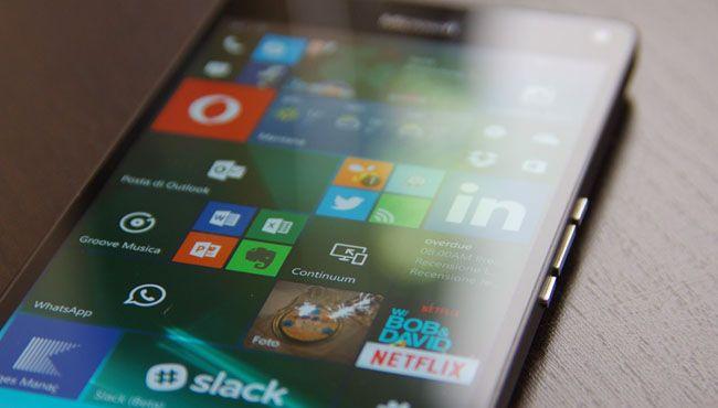 Recensione   Microsoft Lumia 950 XL   Webnews