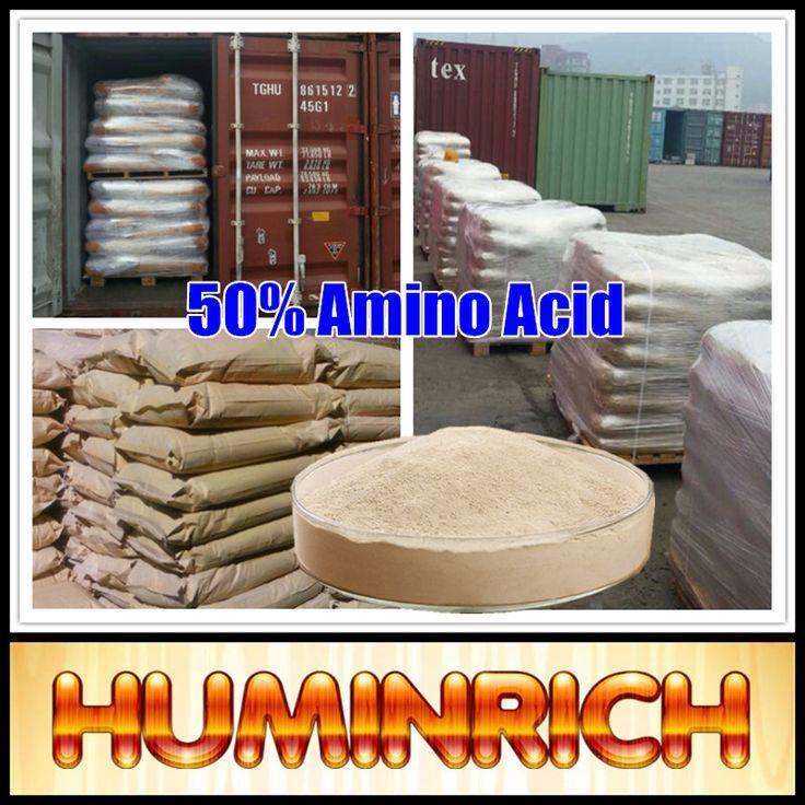 """HuminRich"" Regulate Plant Fast-growing Hi-Protein 50% Bulk Amino Acid Powder"