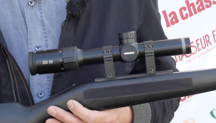 """Eric Voilquin (GMT Outdoor) et Le Chasseur Français vous présentent le modèle de lunette ZE en 1-5x24, par Minox. Modèle """"Made in Germany"""", avec réticule lumineux réglable sur 11 positions, disponible en Z-Rail et couvert par la garantie de 30 ans """"Comfort service"""". Également disponible en : 2-10x50, 3-15x56 et 5-25x56. Minox, la précision au service de l'oeil."""