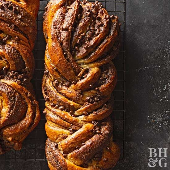 Babka is a sweet cake or bread that originated in European and Jewish communities.
