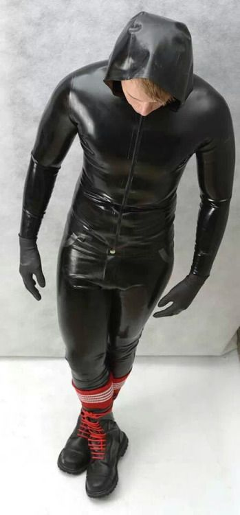 Guys in Rubber Drysuits