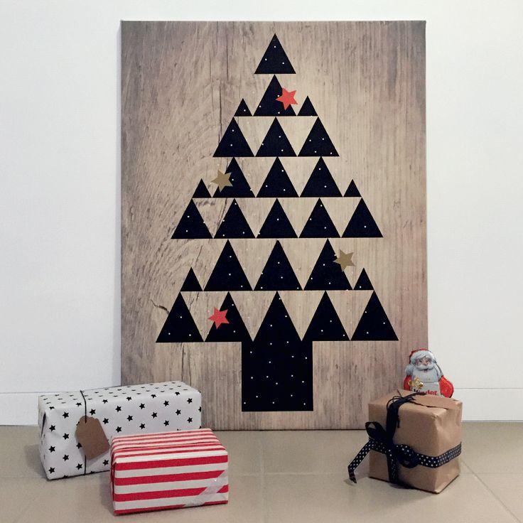 Pour Noël 2015 créez vous même votre sapin lumineux sur toile, un sapin original et tendance. Téléchargez gratuitement nos sapins designs (4 au choix).