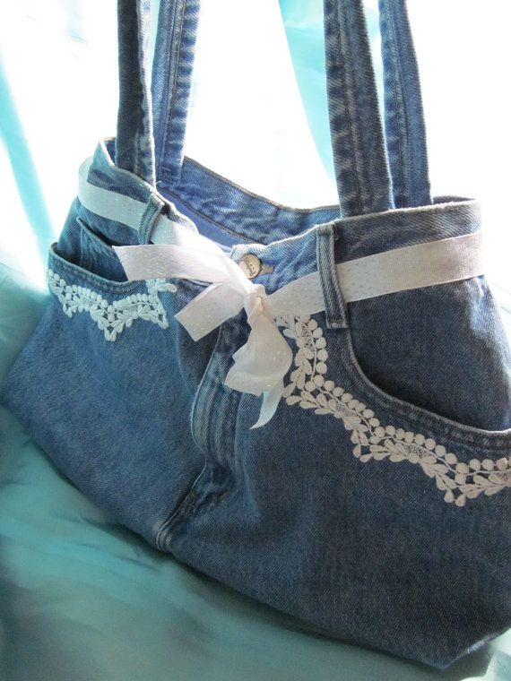 The ugliest jean bags sold first and all I have left are the ones I thought were cutest. I do not understand Etsy shoppers! ;o)