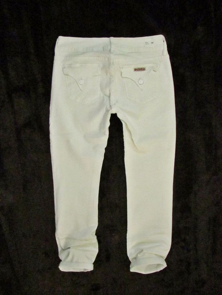 ladies jeans Hudson Los Angeles Made in USA model Beth W28 #HudsonJeans #StraightLeg