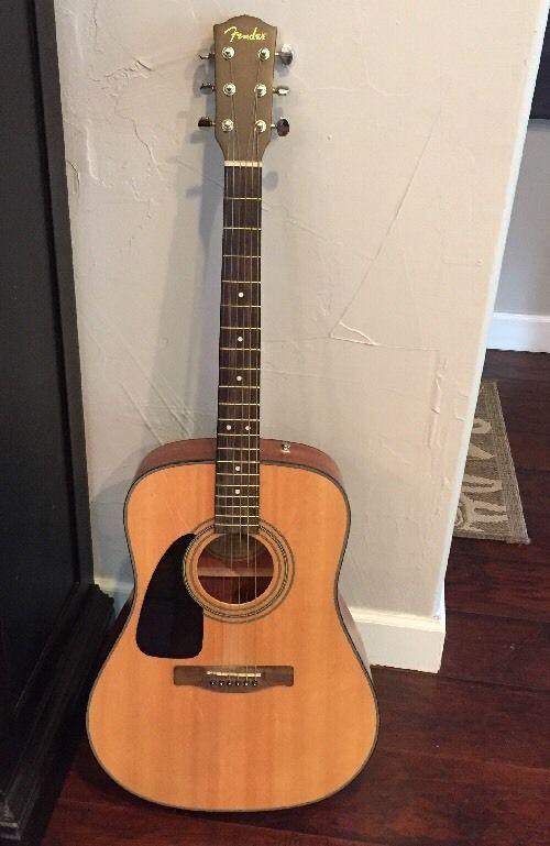 ***SOLD***Fender CD100LH NAT Acoustic Guitar, Left Handed, Natural  #Fender