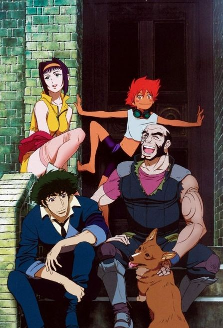 """""""Cowboy Bebop"""" - Created by Hajime Yatate. I'm generally not an anime fan, but Cowboy Bebop is just one of my favorite things."""